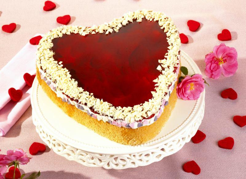 Susse Torten Zum Valentinstag