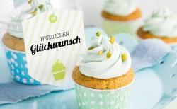 Geburtstags-Cupcakes